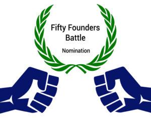 fifty founders battle