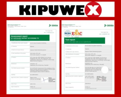 10/2020 Type approval tests for Kipuwex looking good! Halfway through!