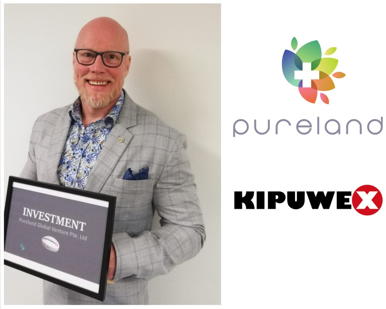 Pureland Global Venture invested in Kipuwex